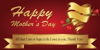 Mothers Day Banner Sign